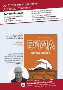 """Krimilesung mit Armand Amapolas """"Emma schreibt"""""""