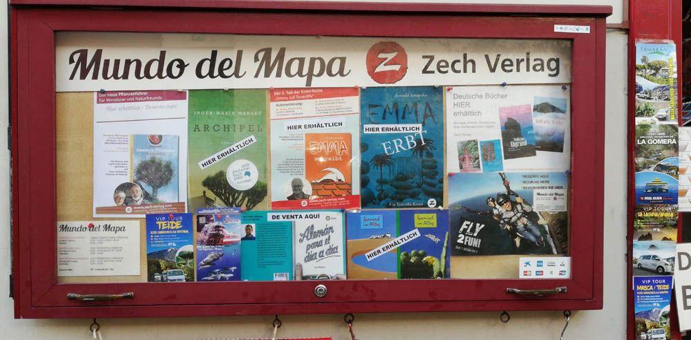 Deutsche Bücher im Mundo del Mapa, Tenerife