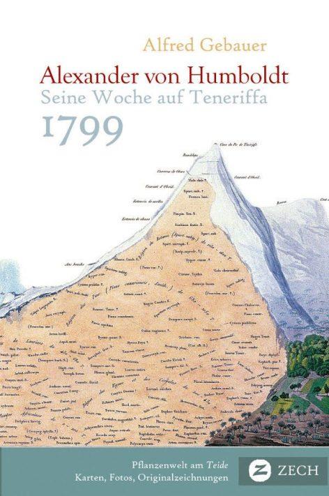 Humboldt auf Teneriffa, Buch von Alfred Gebauer
