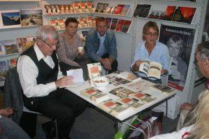 Klaus Matzdorff und Verena Zech auf der Frankfurter Buchmesse
