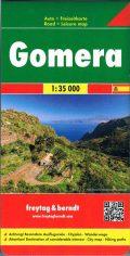 La Gomera mapa Landkarte