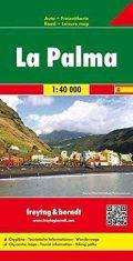 La Palma mapa freytag
