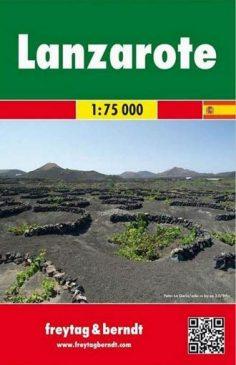 Lanzarote mapa freytag