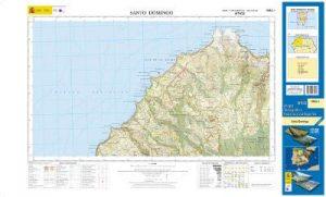 mapa topográfico MTN25