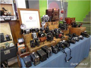 Antikmarkt, Teneriffa, La Laguna, alte Fotoapparate