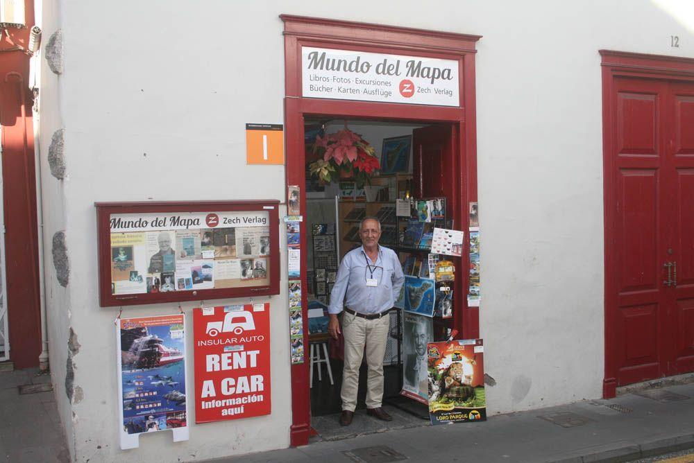 deutsche Bücher im Buchladen Mundo del Mapa