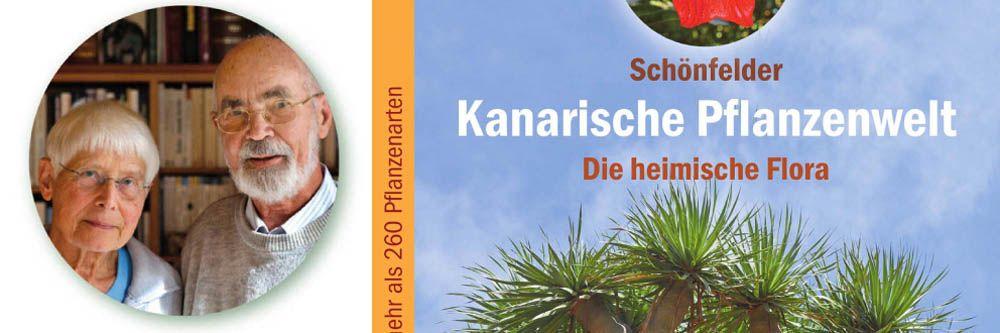 Imagen para presentar el libro sobre flora canaria de Schönfelder