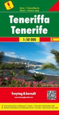 Tenerife mapa landkarte
