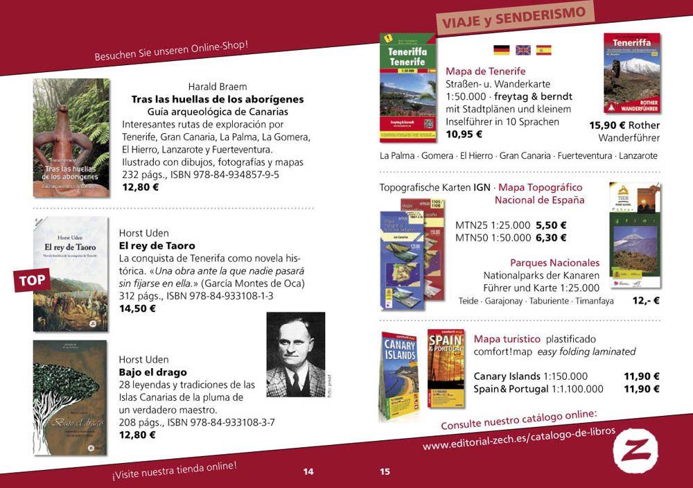 catálogo 2020 libros Zech